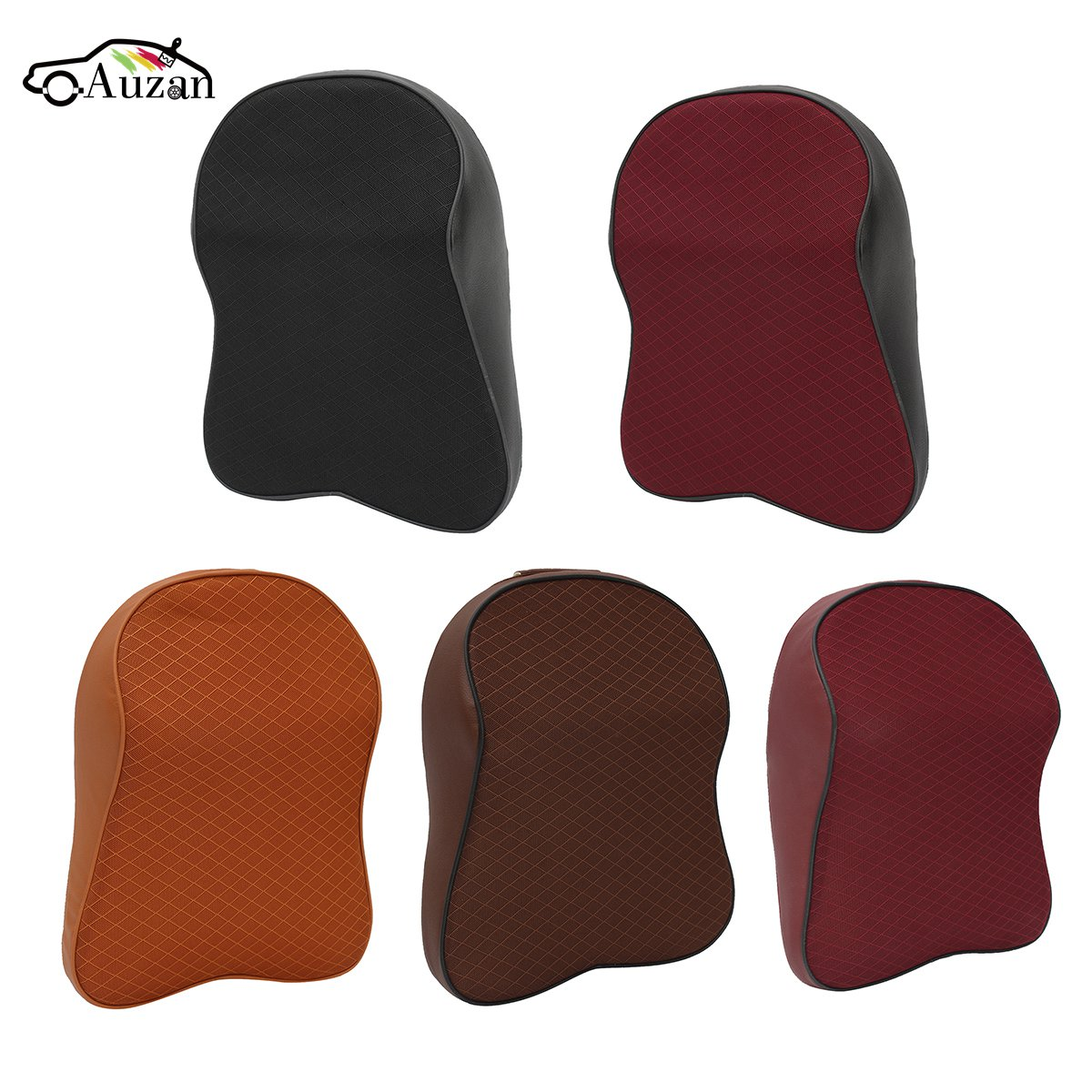 Car Seat Headrest Pad Memory Foam Neck Pillow Travel Head Neck Rest Support Cushion for VW /BMW/AUDI/FORD Universal