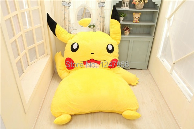 Awesome Japan Anime Pikachu Sleeping Bag Pokemon Cartoon Mattress Gmtry Best Dining Table And Chair Ideas Images Gmtryco