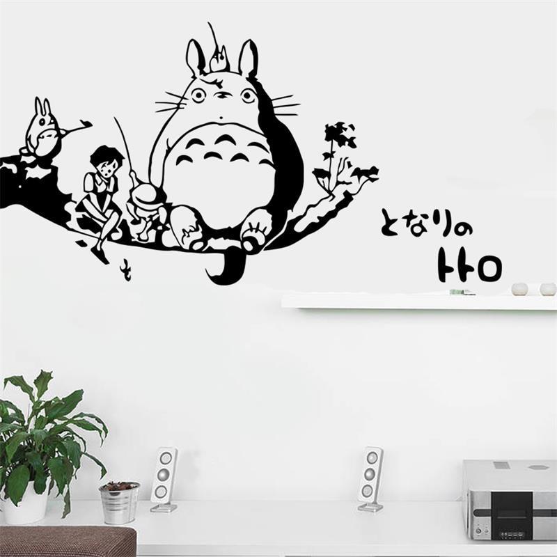 online buy wholesale totoro wall from china totoro wall aliexpress com buy new arrival japanese cartoon totoro