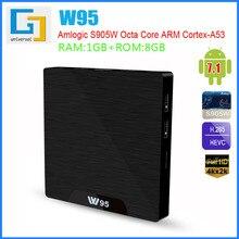 цена на W95 Android TV Box S905W TV BOX 8G/16G WiFi Quad Core 2.4GHz WiFi Set Top Box