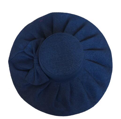 summer fashion cotton big brim sun hat beach hat for women