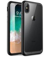 Supcase iphone x xs ケース ub スタイルプレミアムハイブリッド保護 tpu バンパー + pc クリアバックカバーケース iphone x xs 5.8 インチ