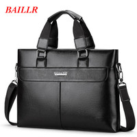 BAILLR Europe And America Business Briefcase Retro Laptop Handbag New Messenger Bag For Men Luxury Brand