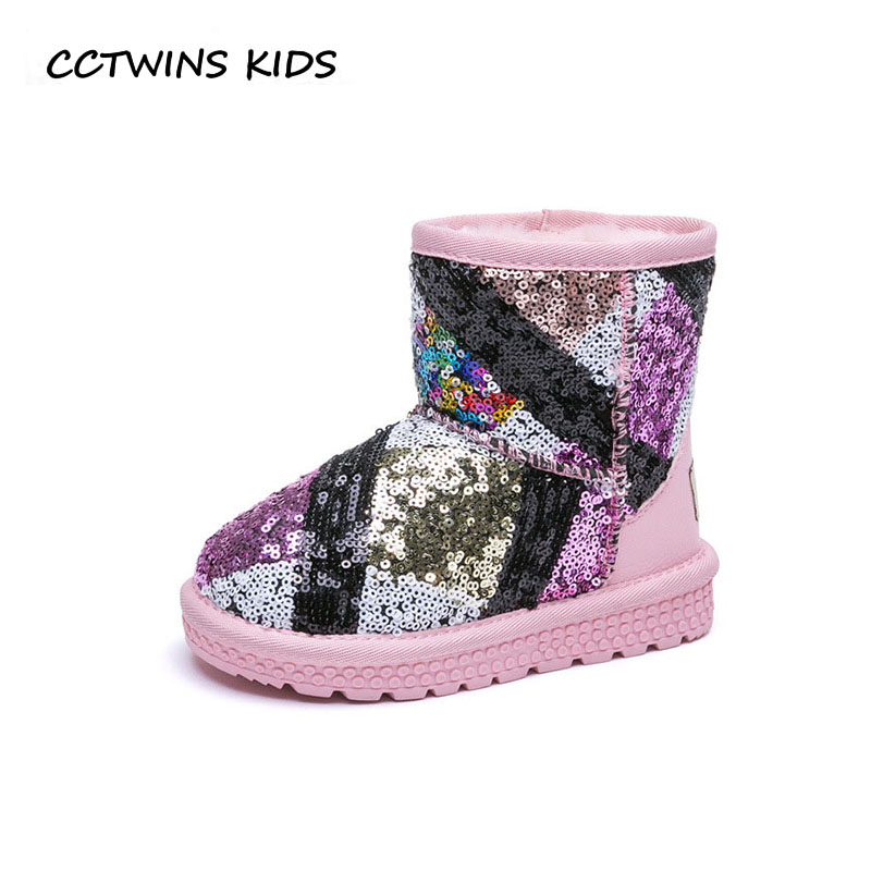 CCTWINS KIDS 2018 Winter Children Fashion Mid Calf Boot Baby Girl Brand Snow Boot Boy litter Warm Shoe Toddler CS1549 cctwins kids 2018 autumn children rhinestone shoe baby girl brand mid calf boot toddler fashion black boot cf1500