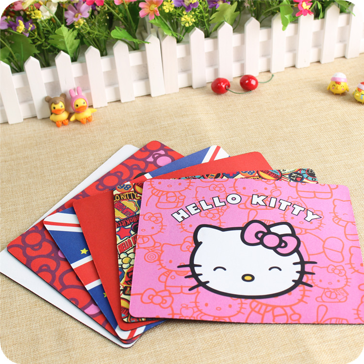 pasocon alfombrilla raton cute hello kitty mouse pad. Black Bedroom Furniture Sets. Home Design Ideas