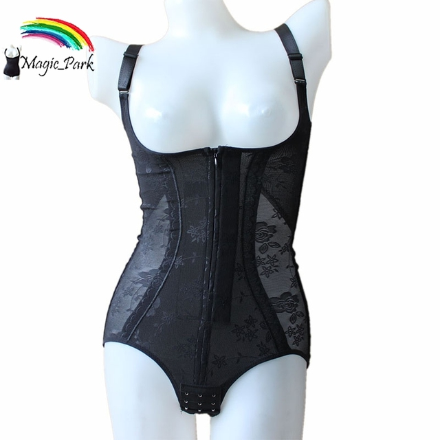 Magia Corpo Shaper Shapers Do Corpo Para as mulheres Plus Size Breve Completo Bodysuits Butt Lift Shapewear Underbust Preto Shapers Do Corpo Quente Asiático Sz