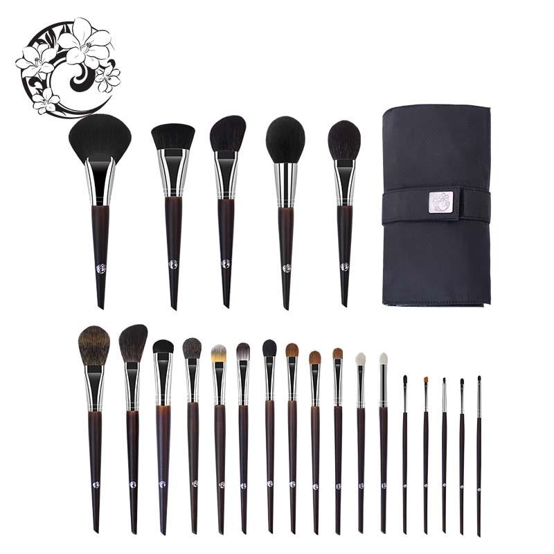 Energía marca profesional 22 piezas Maquillaje cepillo Natural conjunto de pinceles de Maquillaje + bolsa + Brochas Maquillaje Pinceaux Maquillage tm1