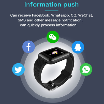 Doolnng Smart Watch Men Blood Pressure Smartwatch Women Heart Rate Monitor Fitness Tracker Watch Sport For Android IOS 1