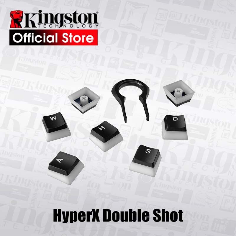 Kingston HyperX Doppio Colpo PBT Budino Keycaps Pieno 104 Traslucido Scrub keycap Compatibile con HyperX tastiera meccanica