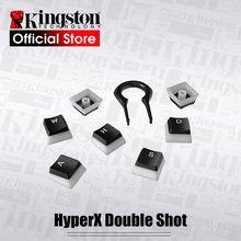 Kingston – capuchons de touches de clavier HyperX Double injection en PBT, 104 translucide, Compatible avec clavier mécanique HyperX