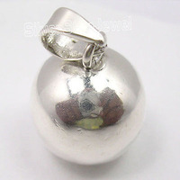 Sterling Silver HOLLOW SPHERE EXTRA ORDINARY Pendant 2 8 CM ONE OF A KIND