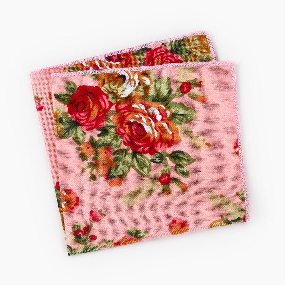 Mantieqingway Pocket Square Pañuelo Paisley y Floral Del Banquete de ...