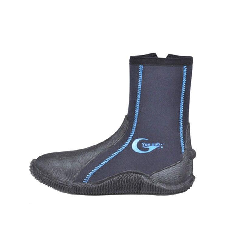 5mm bottes de plongée 5mm chaussures de plongée en apnée antidérapant Anti-corail Wading chaussures de Surf plage chaussures de plongée étanche résistant