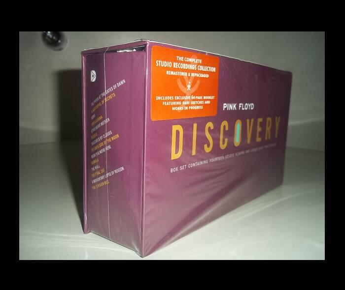 где купить 2018 Marsha Music Cd Avril Lavigne Sale Special Offer Soft Bag Seal: Pink Floyd Discovery Cd 16 Singles Fine Suit Free Shipping по лучшей цене