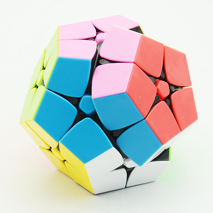 Lefun 2x2 Wumofang Megamin X Magic Cube Stickerless 2layer Professional Puzzle Speed Cubes Educational Special Toys Toys & Hobbies Magic Cubes