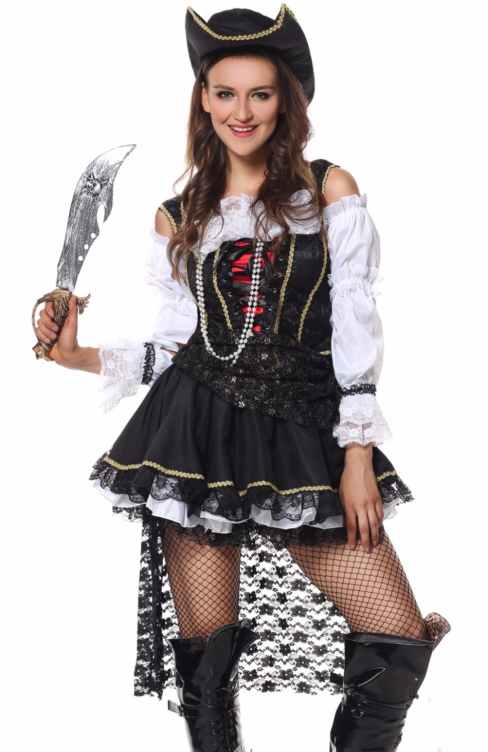 halloween costume for women pirate adult halloween costume female stage wear fantasy dress party pirate cosplay - Pirate Halloween Costumes Women