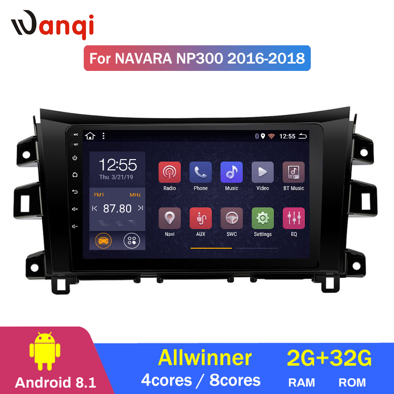 2G RAM 32G ROM 10.1 inch Android 8.1 car multimedia system For Nissan navara NP300 2016-2018 gps navigation2G RAM 32G ROM 10.1 inch Android 8.1 car multimedia system For Nissan navara NP300 2016-2018 gps navigation