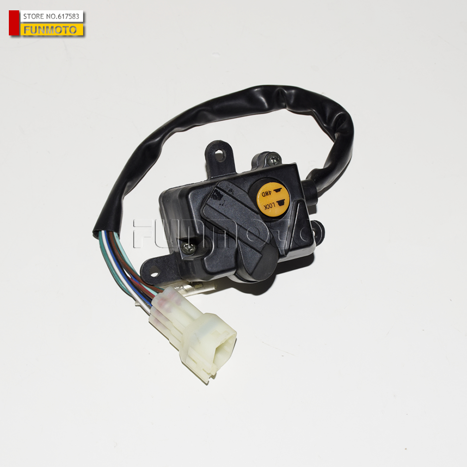 Two wheel drive and four drive switch suit for Cf moto 500 2-A parts code is 7030-160700 image