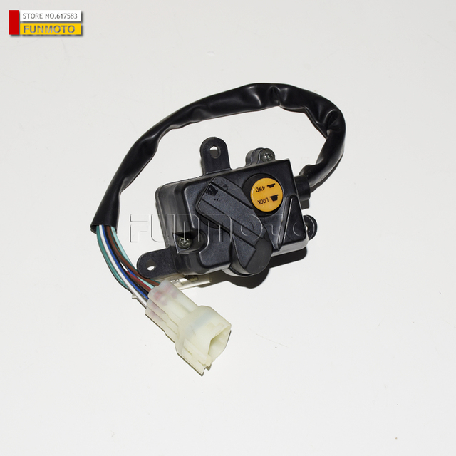 US $20 0 |Two wheel drive and four drive switch suit for Cf moto 500 2 A  parts code is 7030 160700-in Motorbike Ingition from Automobiles &