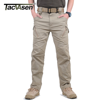 TACVASEN IX9 Men City Tactical Pants Multi Pockets Cargo Pants Military Combat Cotton Pant SWAT Army Casual Trousers JLTX-002-01 1