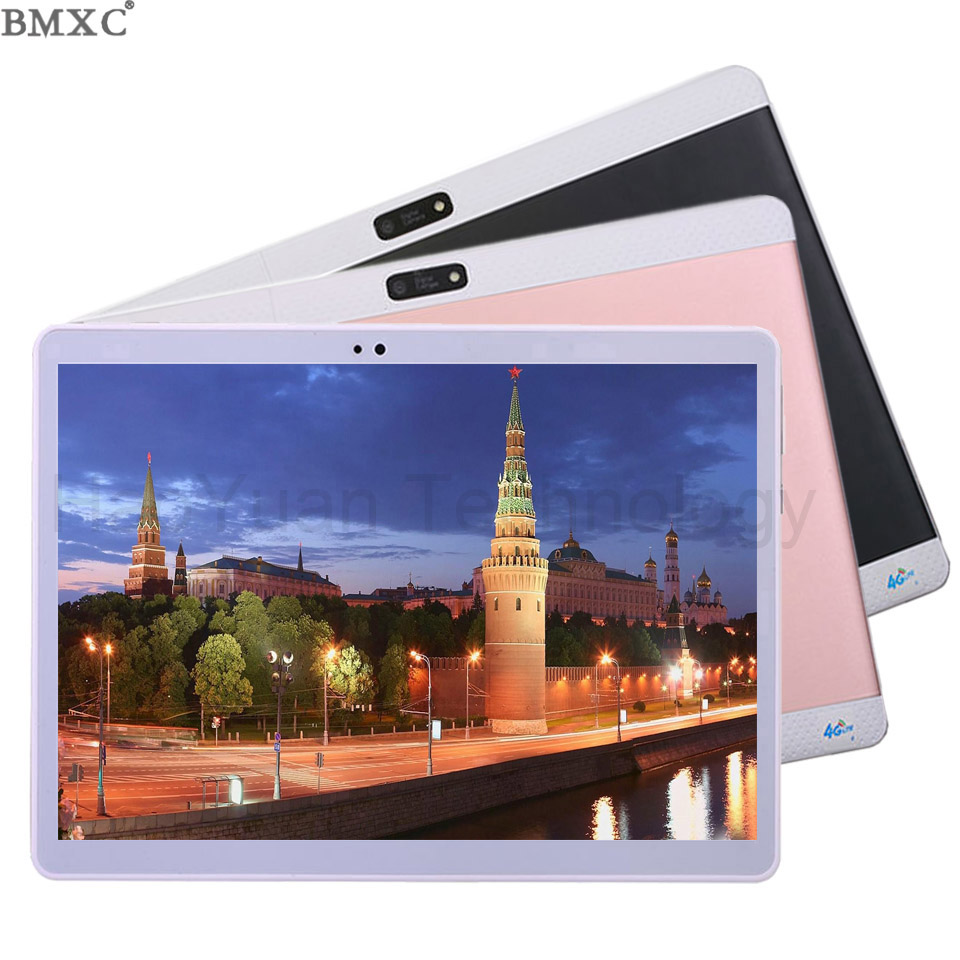 2017 New 10 inch Octa/10 Core 3G 4G Tablet 4GB RAM 64GB ROM 1920*1200 Dual Camera Android 7.0 Tablet 10.1 inch DHL Free Shipping 你好 法语4 学生用书 配cd rom光盘