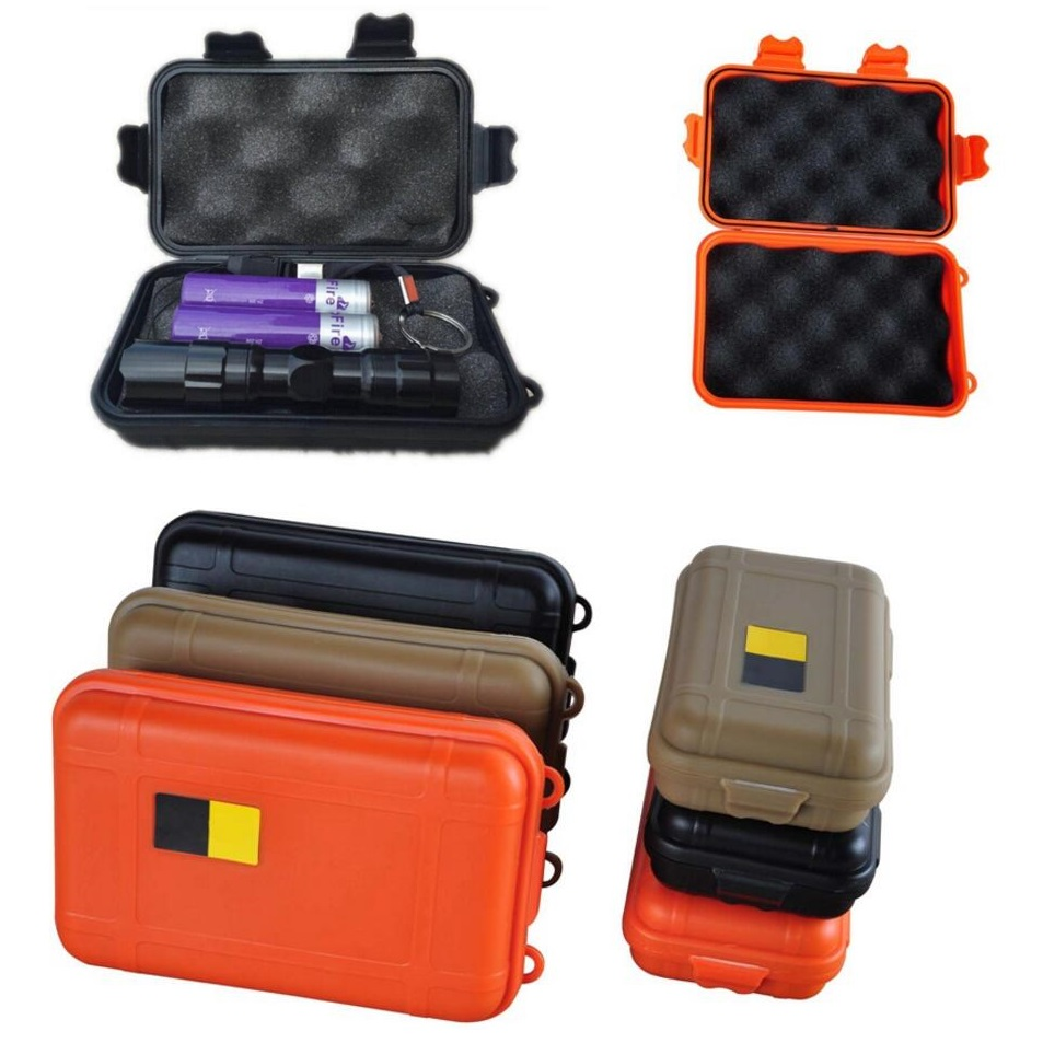 camping large waterproof boxes edc travel sealed containers survival shockproof airtight case. Black Bedroom Furniture Sets. Home Design Ideas