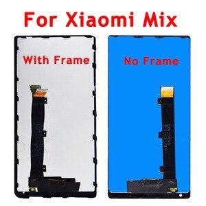 Image 4 - חדש נבדק עבור שיאו mi mi mi x LCD תצוגת מסך מגע Digitizer עצרת עם מסגרת עבור שיאו mi mi mi X 2 LCD החלפת חלקים
