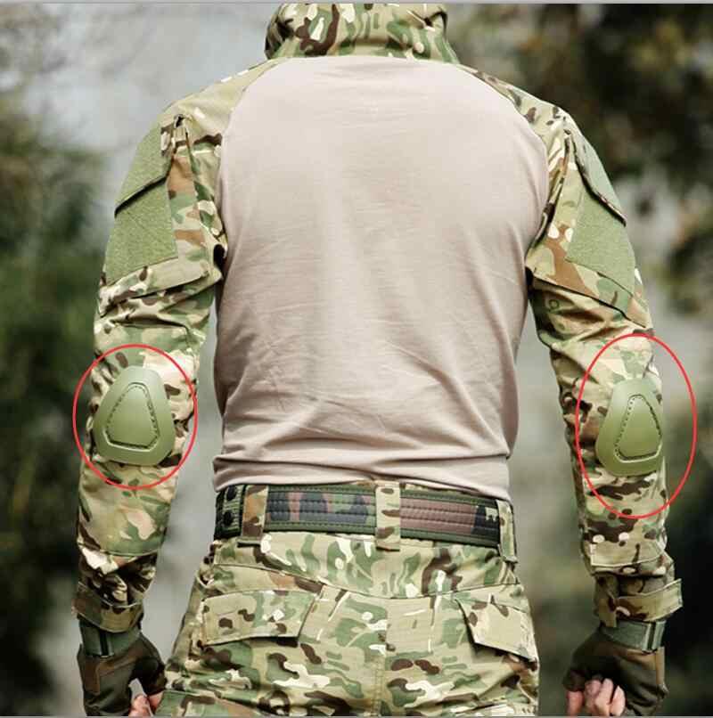 الضفدع دعوى نيباد وسادات الكوع الجيش العسكرية التكتيكية والعتاد SWAT الادسنس الألوان القتال الضفدع السراويل نيبادس الرياضة السلامة دعم