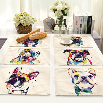 Dog Painted Table Mats