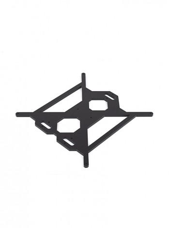 Funssor 6MM aluminum alloy bed support plate for PRUSA I3