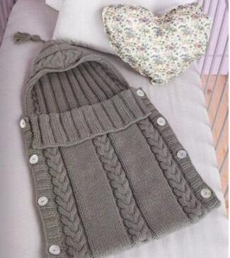 b635575ff Newborn Infant Baby Swaddle Wrap handmade Knitted Crochet baby ...