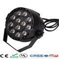 12x3W flat LED Par/RGBW Disco DMX512 stage light/luces discoteca/laser Beam/luz de projector/lumiere dmx controller