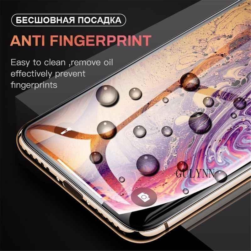 10D szkło ochronne na iPhone XR X XS MAX szkło pełna pokrywa dla iPhone XsMax Screen Protector szkło hartowane folia przednia