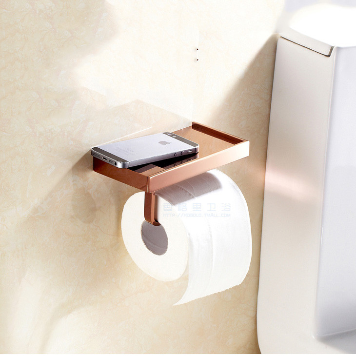 Bathroom Wall Mount Tissue Holder Toilet Paper Holder