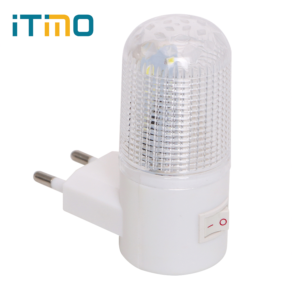 비상 조명 벽 램프 홈 조명 led 밤 빛 eu 플러그 머리맡 램프 벽 마운트 에너지 효율적인 4 leds 3 w