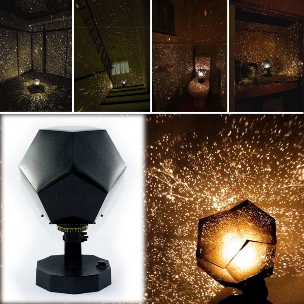 Four seasons star projector lamp - Popular Led Night Light Star Celestial Projector Diy Lamp Night Sky Light For Romantic Party Christmas