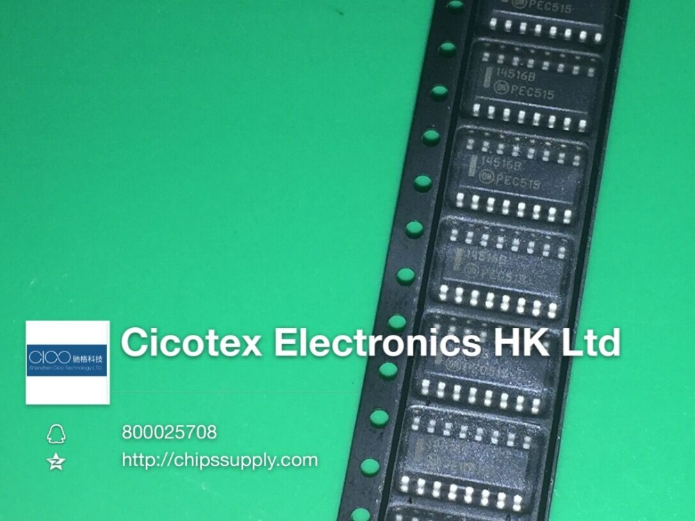 [Electronics Accessories] MC14516BDR2G IC COUNTER BINARY UP/DOWN 16SOIC