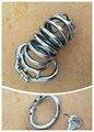 Boca aberta Snap Ring10.cm gaiola castidade De Aço cinto masculino cinto de castidade masculino dispositivo de castidade cinto de castidade pênis anel masculino