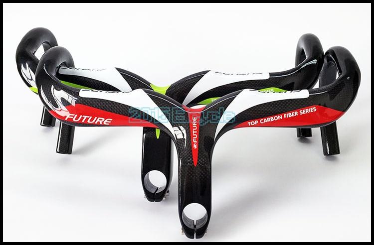 2019 Brand New Full Carbon Fiber Handlebar Riser Bike Handlebar Bike Bicycle Bar For Mountain Bicycle