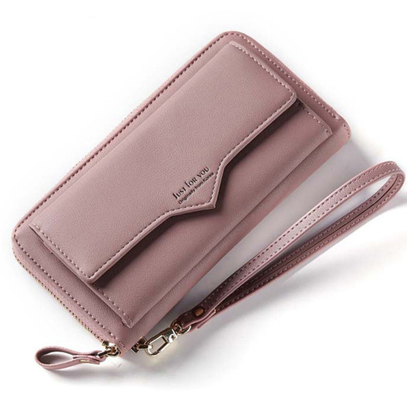 Baellerry Brand Wallet Women clutch PU Leather Lady Coin pocket Purses High Quality Ladies Clutch Wallet Long Cell phone Wallet kenneth cole new york womens leather clutch wallet w iphone smart phone pocket
