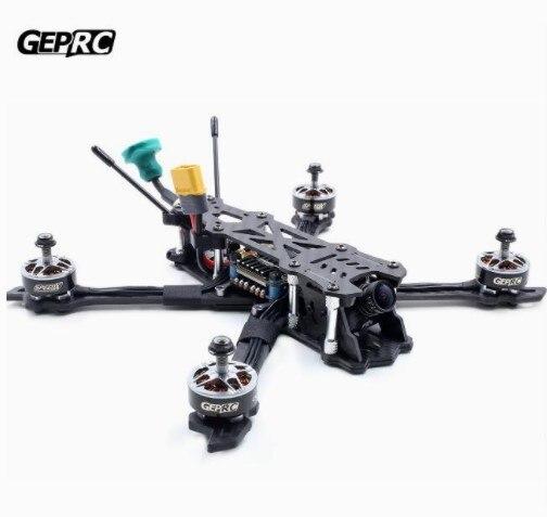 GEPRC GEP Mark2 Mark 2 Freestyle FPV Carbon Fiber Frame Kit Blheli-s 40A F4 Flight Control 5.8G VTX