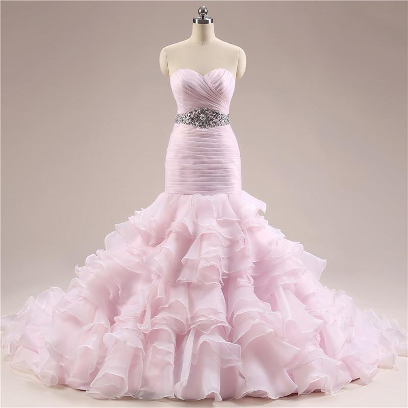 Pink Wedding Dresses Mermaid Style : Blush dress store buy cheap lots from china
