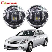Cawanerl 2 X Car LED Fog Light DRL Daytime Running Lamp High Power For Infiniti G37 Sport 3.7L V6 – Gas 2011 2012 2013