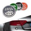 40 pcs 3D Etiqueta do Logotipo Do Emblema Do Emblema para Jeep Wrangler Trilha nominal 4X4 Caminhão Fender Vermelho Cinza Preto Decalque Do Carro Adesivo Styling