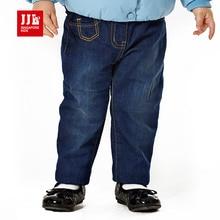 2015 зима новорожденных девочек джинсы высокое качество марка детская толщиной зима теплая кашемировые дети одежда для новорожденных девушки брюки детские жан