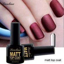 Saroline 8ml 1 pcs Durable Soak Off Sealer Transparent UV/LED Matt Top Coat Gel Nail Polish For Manicure Acrylic Paints