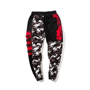 Image 5 - Color Block Patchwork Camo Jogger Pants Mens 2018 New Hip Hip Streetwear Cargo Trousers Brand Designer Hiphop Pants WS172