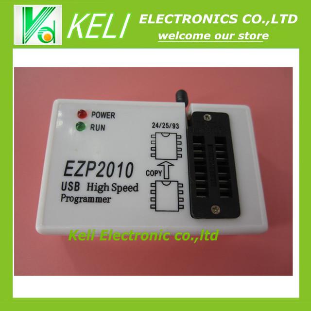 Frete grátis 1 PCS adaptador Programador EZP2010 de alta-velocidade USB suporte 24 25 93 25 EEPROM do flash chip de bios