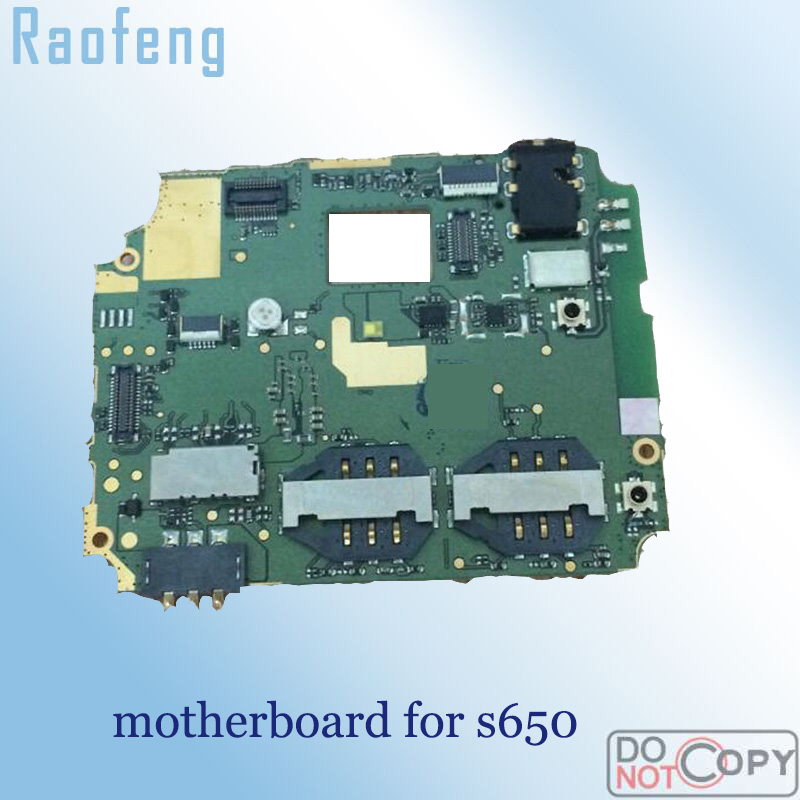 Raofeng  High quality motherboard For lenovo s650  Unlocked disassembled  Mainboard test one by one  well worked before ship(China)