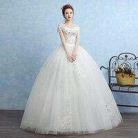 Red 2017 Luxury off Shoulder lace diamond Wedding Dresses Princess Lace Alliques Bridal Bride Gowns robe de mariage